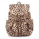 [grlhx120002]Cool Leopard Fashion Backpack Bag