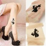 [grlhx160003]Sexy Cat  fake tattoos pantyhose