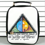[grlhx120061]Cool Colorful Shiny Triangle Backpack bag