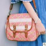 [grlhx120084]Fresh Flower Lace Shoulder Bag