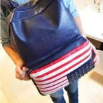[grd03071]Fashion the Stars and the Stripes Backpack Bag