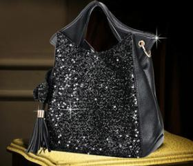 [grdx02123]Shiny Sparking Fashion Handbag bag