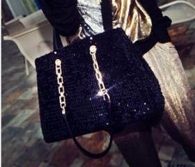 [grlhx120029] Shiny Sparking Handbag Shoulder bag
