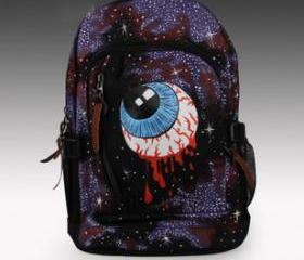 [grlhx120034]Hand Draw Triangle eye Backpack Bag