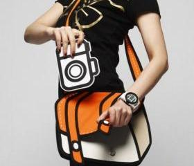 [grlhx120079] Cute Cartoon 3D Shoulder bag